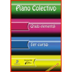 Piano Colectivo 1. Enseñanzas Elementales