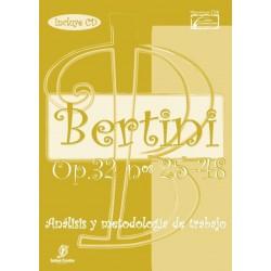 BERTINI. Opus 32. Estudio original, análisis y...