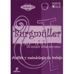 BURGMÜLLER. Op. 100. 25 estudios. Estudio original,...