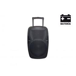 Caja acústica autoamplificada portátil con batería AMS...