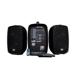 Sistema portátil amplificado AMS COMPACT400USB (2 x 100W)...