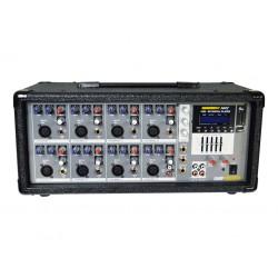 Mezclador autoamplficado AMS AMP500USB (2 x 150w) 8...