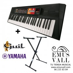 PACK Teclado Yamaha PSR F51 + Soporte Guil ST101