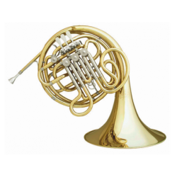 Trompa Doble Hans Hoyer Fa/Sib HH-6801A-1-0 Lacada