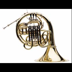 Trompa Doble Hans Hoyer Custom Fa/Sib HHK10AL1 Lacada