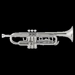 Trompeta Sib Bach TR-500S Plateada