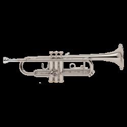 Trompeta Sib Bach TR-300H2S Plateada