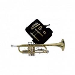 Trompeta J.Michael TRC440CV Do-Sib Lacada con estuche