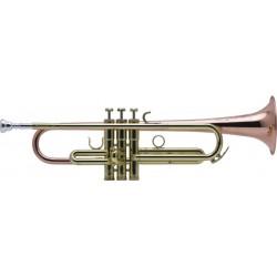Trompeta Sib Schilke HC2-L lacada con campana de cobre
