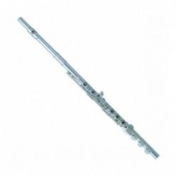 Flauta Pearl Dolce 695-R platos abiertos alineados y...