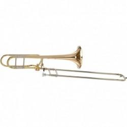 Trombón Bach Stradivarius 42AG con transpositor Hagman...