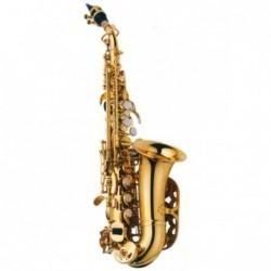 Saxo Soprano curvo J.Michael Sib SP700 lacado con estuche