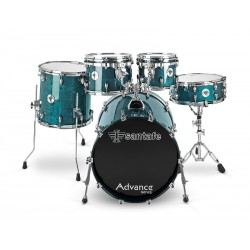 "Bateria SantaFe Drums Set Advance 22""-16""-12""-10""-14""..."
