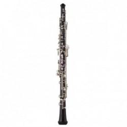 Oboe J.Michael profesional OB2200 ébano llaves plateadas...
