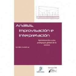 Análisis, improvisación e interpretación