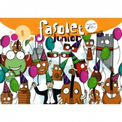 LIBRO FASOLET JUNIOR 1