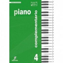 Piano Complementario 4. Enseñanzas Profesionales
