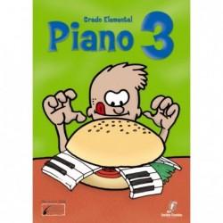 Piano 3. Enseñanzas Elementales