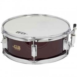 "CAJA 14""X5,5"" 6 DIV. MD DB PERCUSSION DB0110 ROJO VINO"