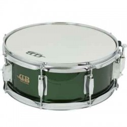 "CAJA 14""X 5.5"" 8 DIV MD DB PERCUSSION REF.DB0108 VERDE"