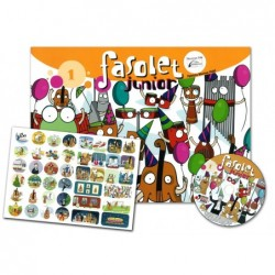 LIBRO FASOLET JUNIOR 1 + CD...