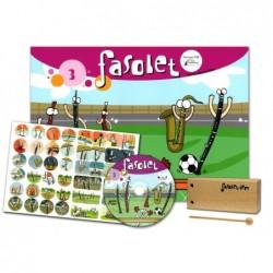 LIBRO FASOLET 3 + CD...